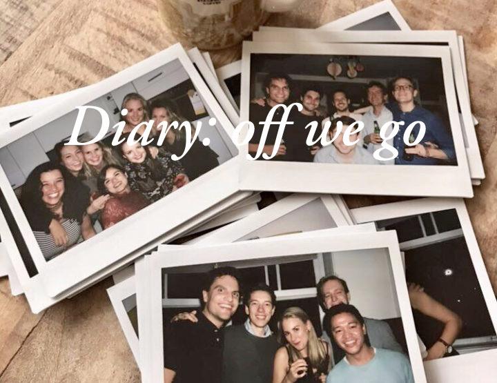 Diary: Klaar voor vertrek!