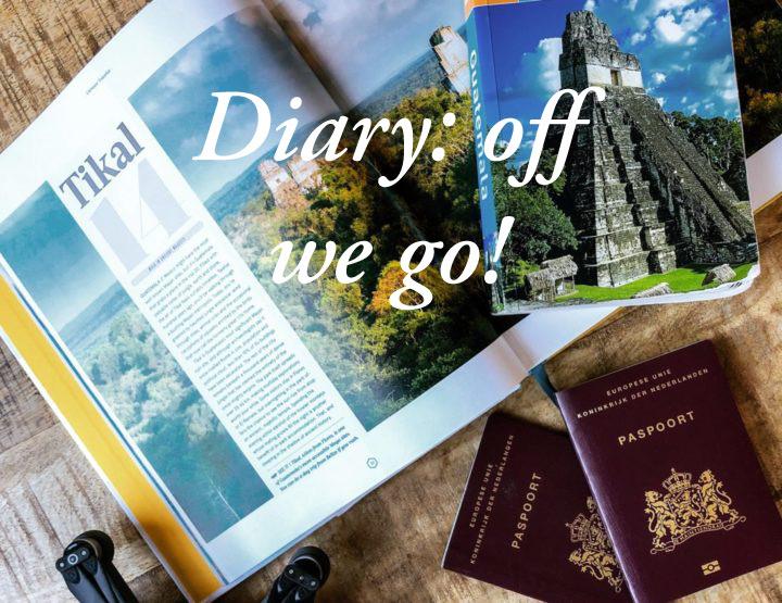 Diary: op Schiphol onderweg naar...
