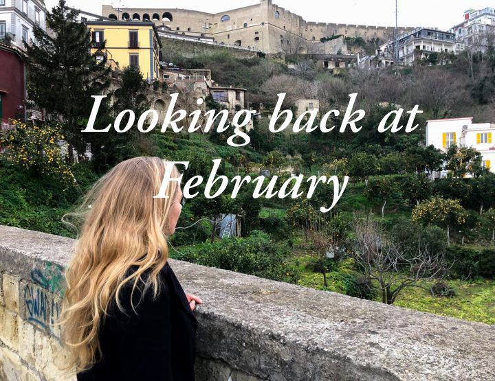 Diary: looking back on February