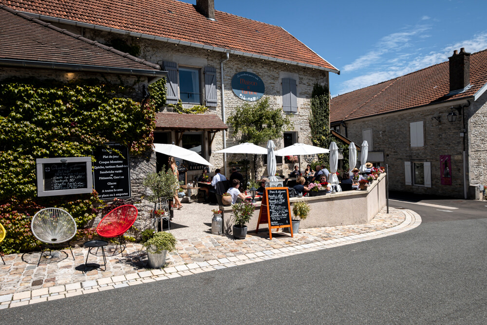 Best cafe and restaurants in the champagne regeion France