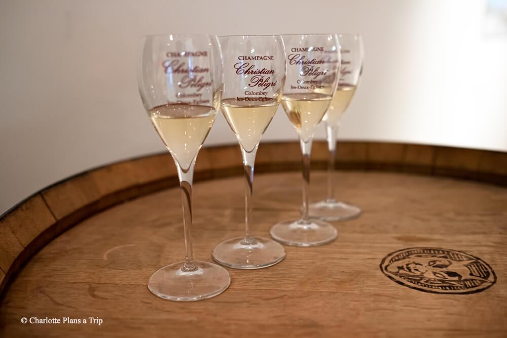 Christian Peligri cave Cote des Bar en Champagne France