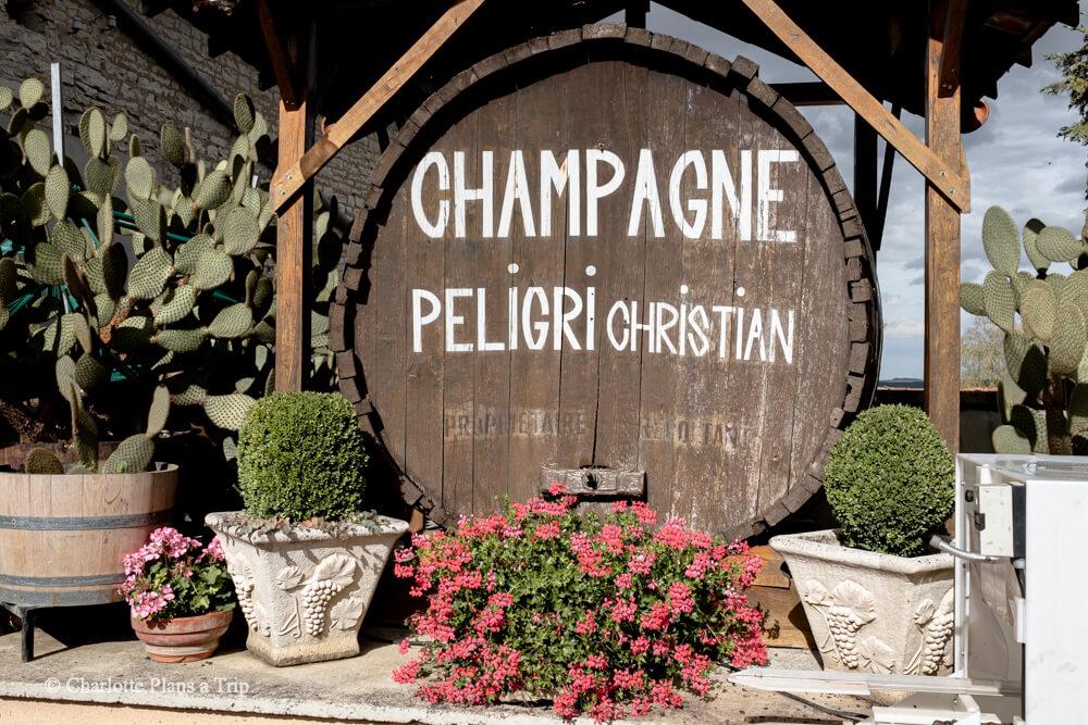 Peligri Champange Cave Cote des Bar France