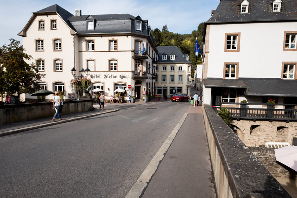 Spot Charlotte in Vianden Luxembourg