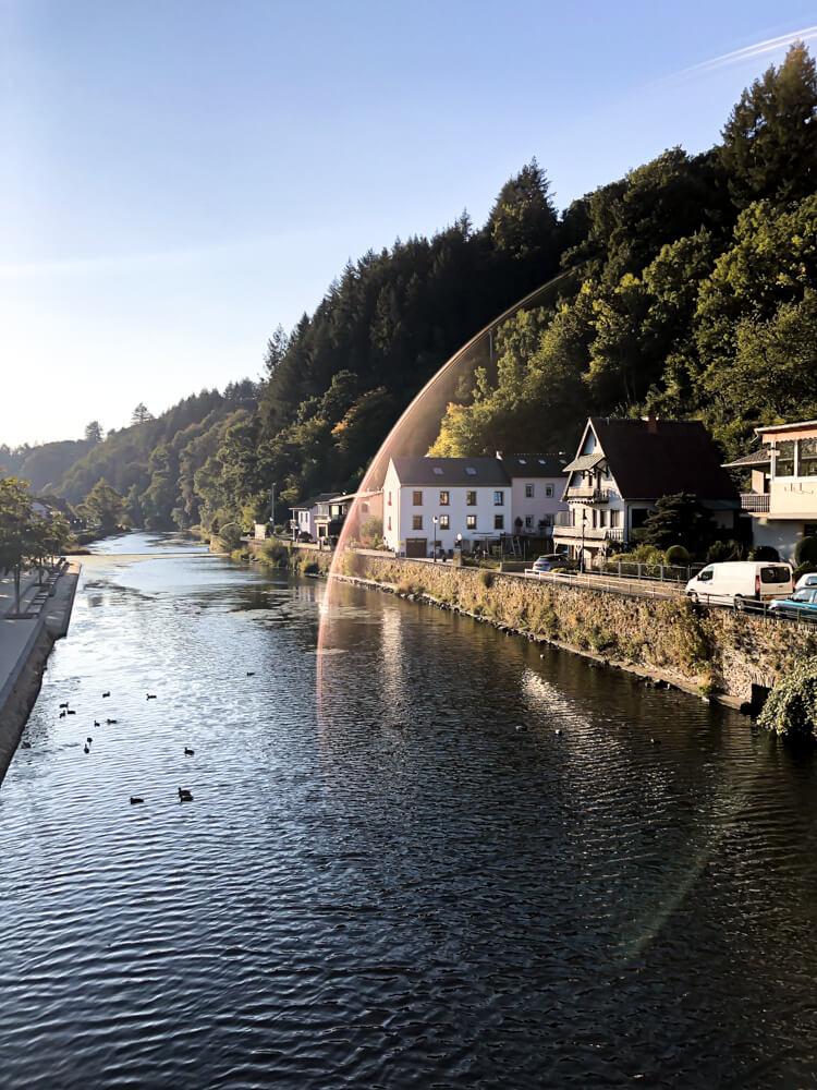 Vianden river Luxembourg