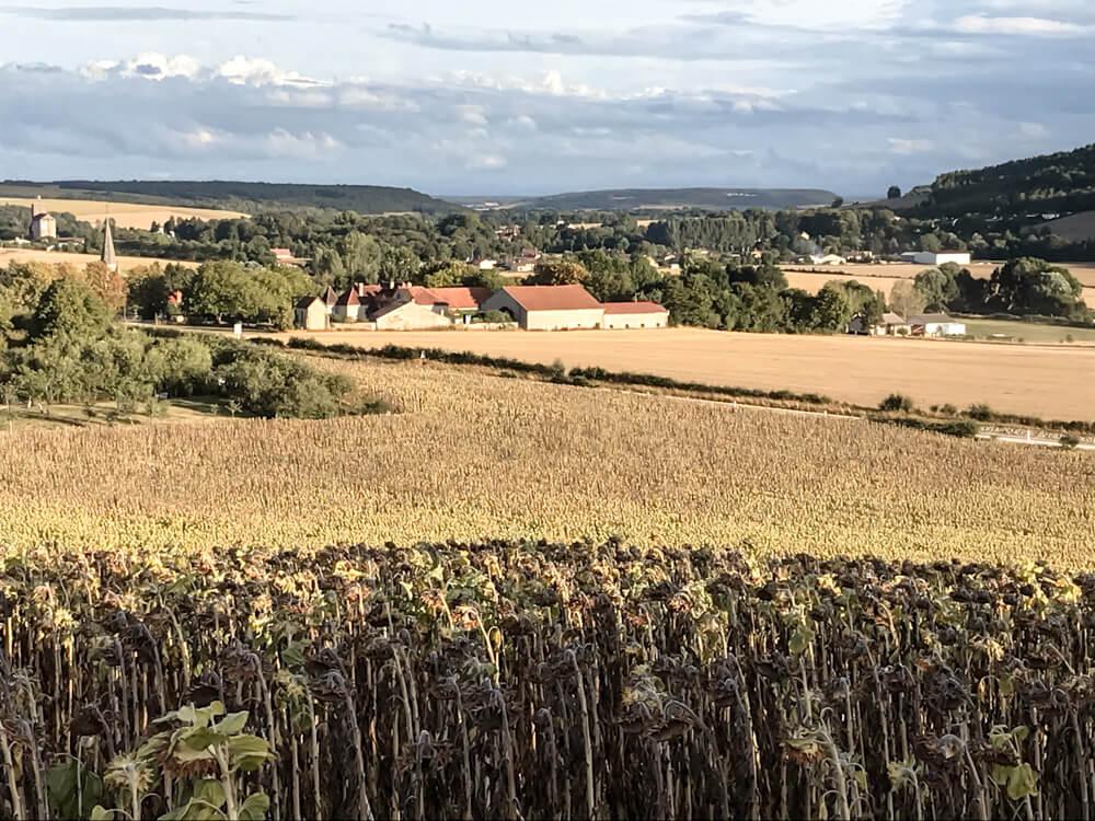 Village Rennepont en Champagne France