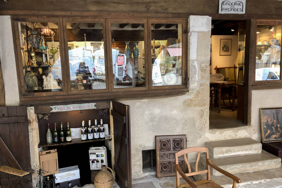 Franse antiek winkel Frankrijk