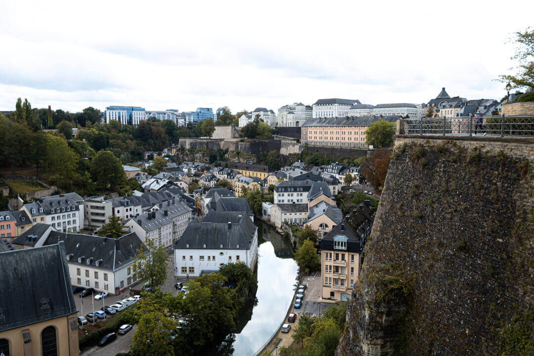Luxembourg city viewpoint Luxembourg