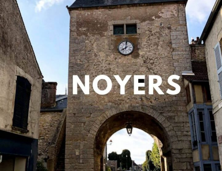 Noyers-sur-Serein: Beautiful medieval village in Burgundy!