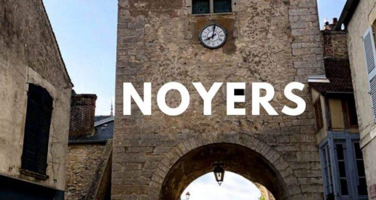 Noyers-sur-Serein: Beautiful medieval village in Burgundy!