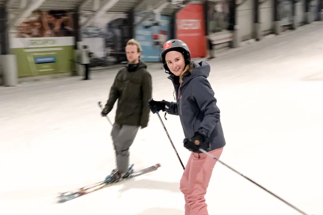 Protest ski clothes indoor fun