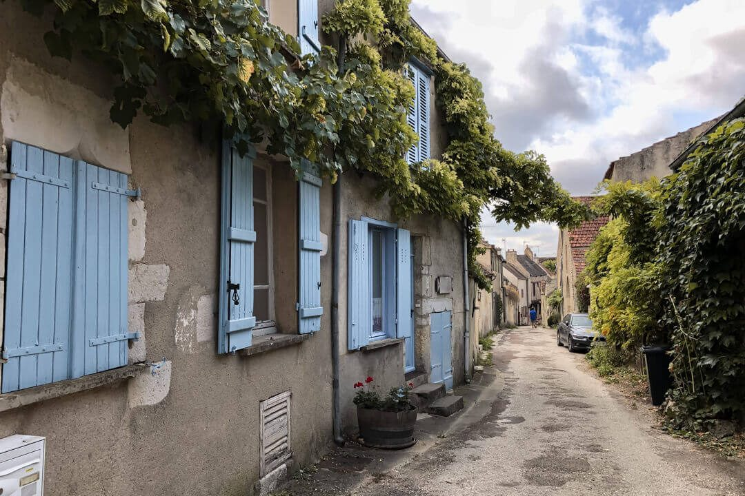 Streets of Noyers 2 Burgundy France