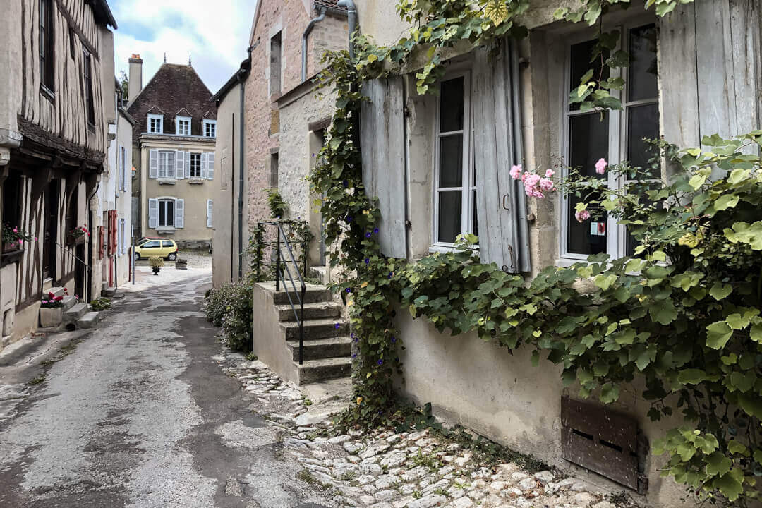 Streets of Noyers Burgundy France