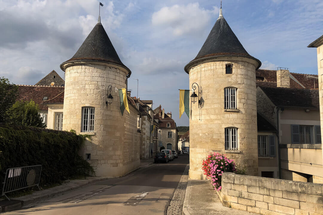Welcome to the little village of Noyers Burgundy France