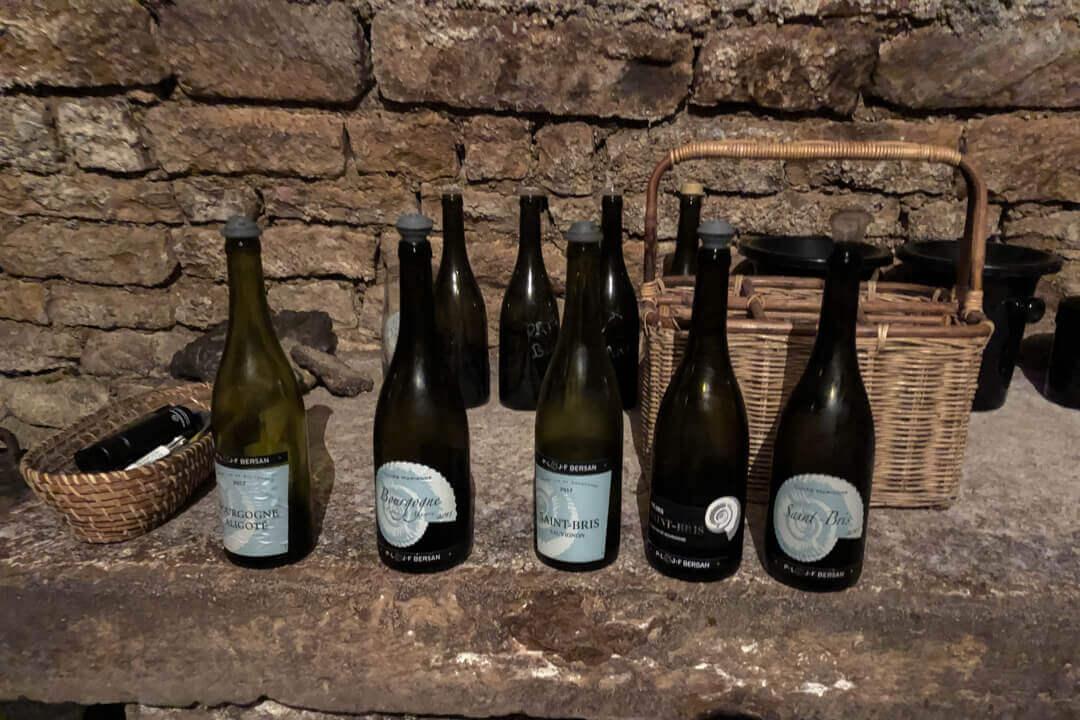 Wijnproeverij Bourgogne Frankrijk