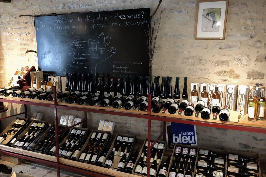 Wijnwinkel Bourgogne Frankrijk