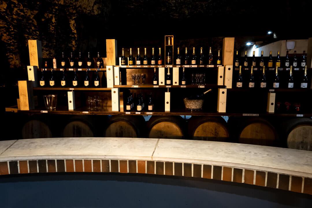 Wine tasting in a cave Burgundy France 2