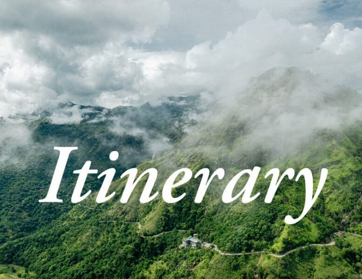 Itinerary Sri Lanka 2 & 3 weeks: the ultimate itineraries for backpacking in Sri Lanka!