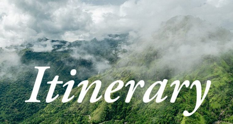 Itinerary Sri Lanka 2 & 3 weeks: the ultimate itineraries for backpacking in Sri Lanka!