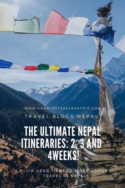 Nepal Itinerary