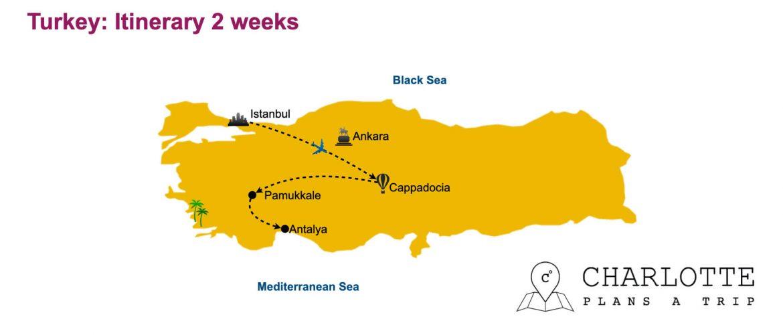 Turkey Itinerary 2 weeks Visit Turkey Highlights 14 days itinerary