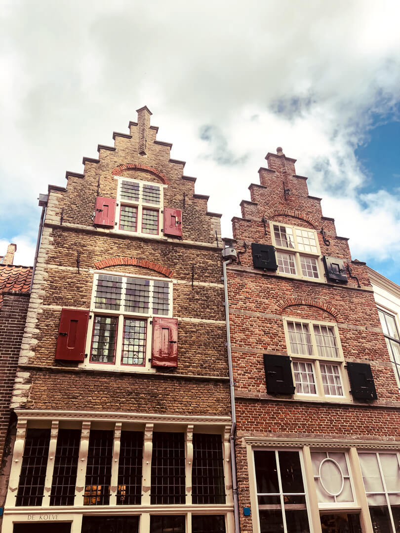 Zeeland traditional houses and architecture the Netherlands