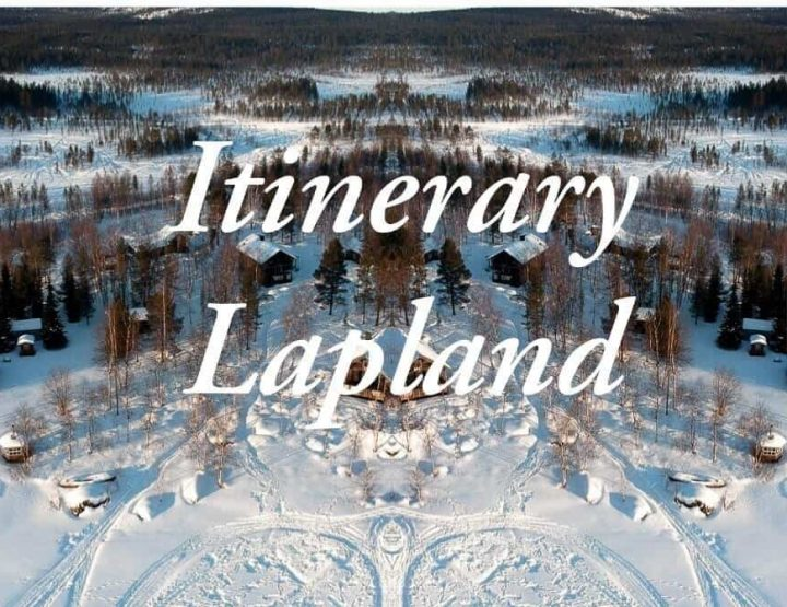 Lapland itinerary: the ultimate travel itinerary through Finnish Lapland in winter!
