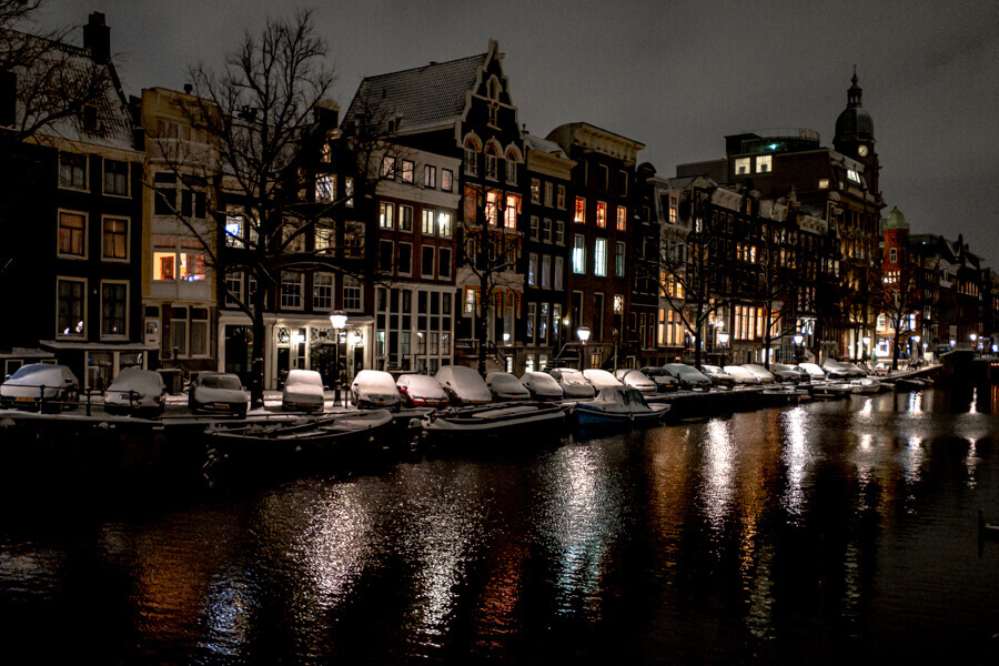 Amsterdam Canals february 2021