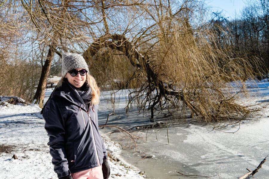 Winter fun in Amsterdan Vondelpark