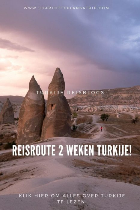 Turkije reisroute