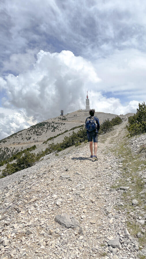 Hiking the Mont Ventoux Provence France
