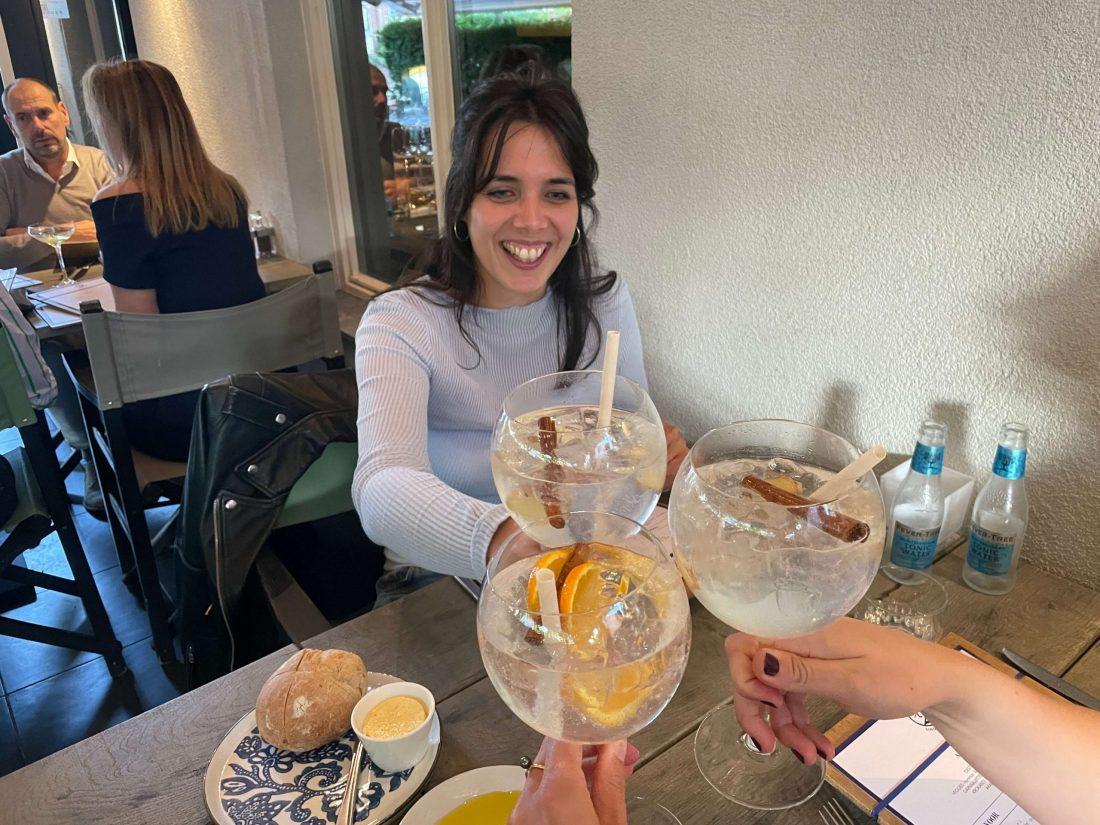 drankjes bij die twee